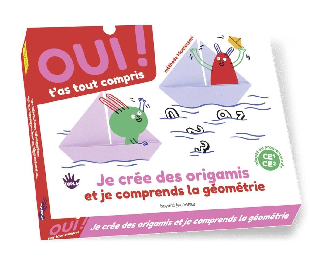 Box n°2_ Oui t'as tout compris: crée des origamis et comprends la géométrie