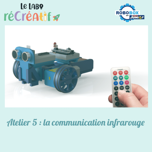 Atelier 5 : la communication infrarouge