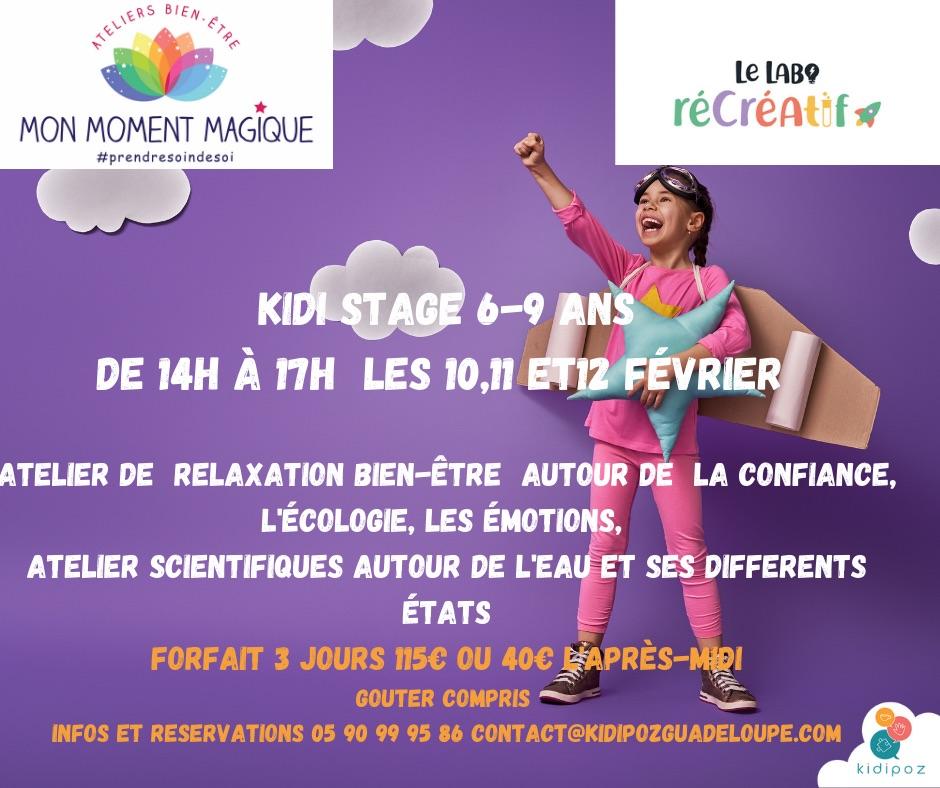 Kidi Stage (6-9 ans)