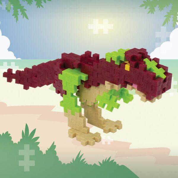 PLUS-PLUS : T-rex