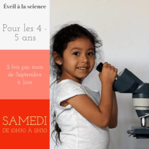 Atelier Eveil à la science 2021